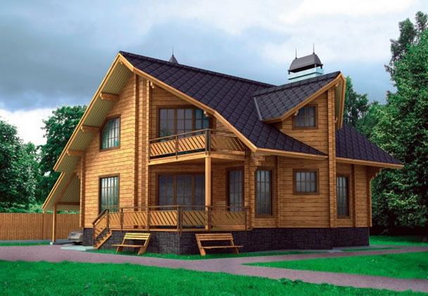 Технология строительства домов из бруса