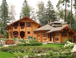 Элитные дома из бруса