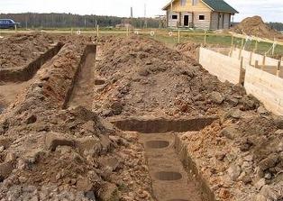 Подготовка к закладке фундамента дома