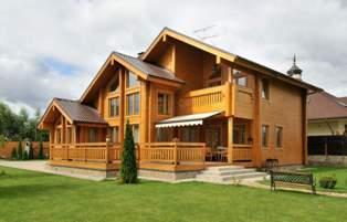 Популярные проекты домов из бруса