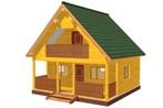 Проект для строительства дома из бруса