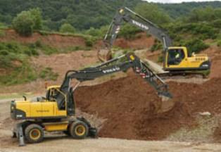 Извлечение грунта на участке