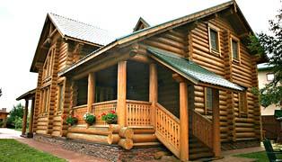 деревянные дома русский стиль