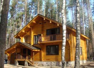 деревянные дома в европейском стиле