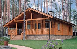 деревянные дома в финском стиле