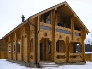 дома из бруса по финской технологии