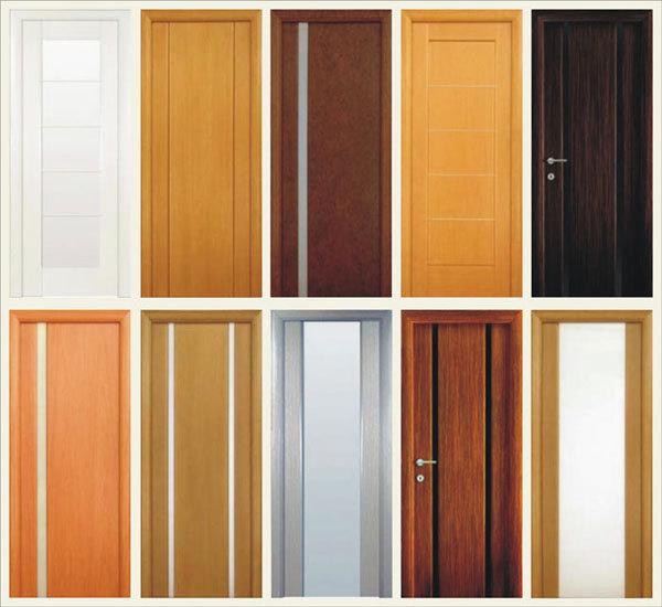 выбор цвета межкомнатных дверей
