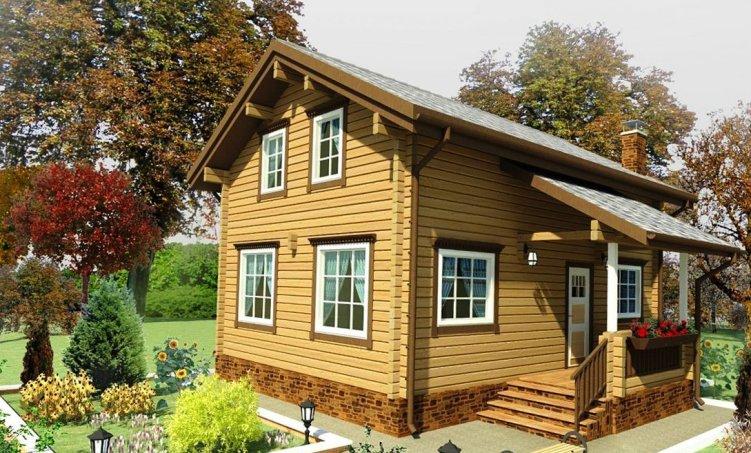 проектирование деревянных домов из бруса