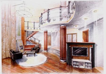 разработка дизайн проекта дома