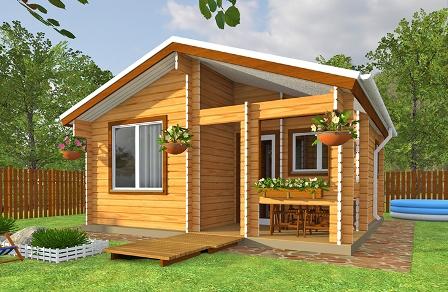 типовой проект дачного дома