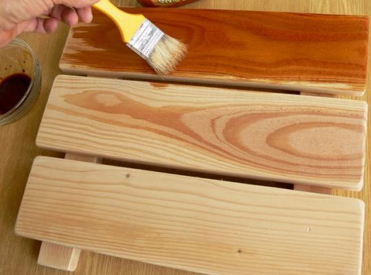 декоративная защита древесины