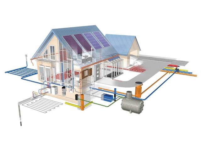 проект инженерных коммуникаций загородного дома