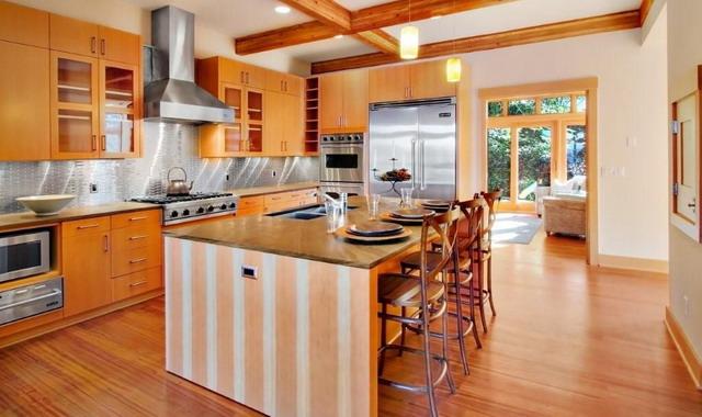 Примеры обустройства кухни