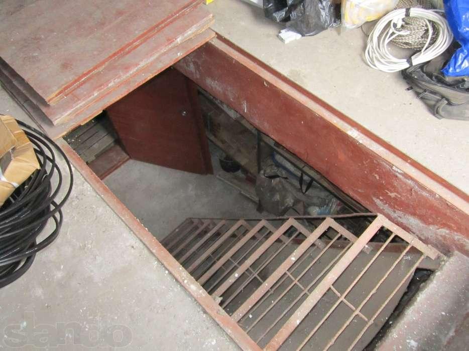 обустройство погреба в гараже