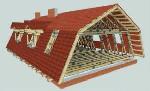 обустройство крыши дома