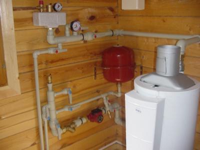 Установка водонагревателя в доме