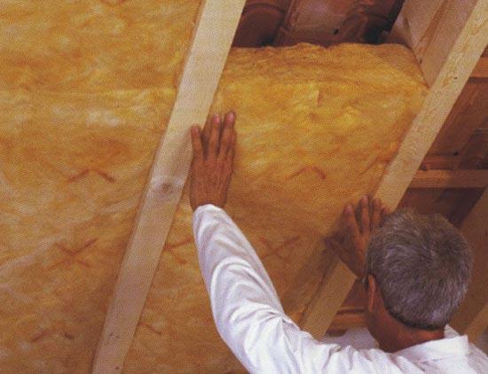 как утеплить потолок в мансарде