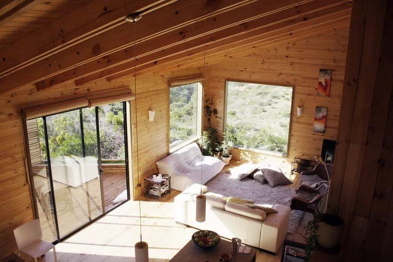 Комнаты в дачном доме