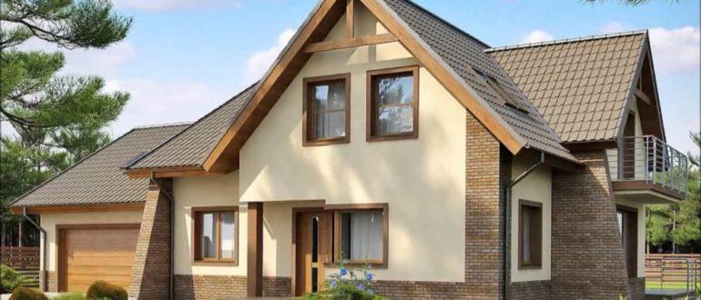 Виды фасадов для частных домов