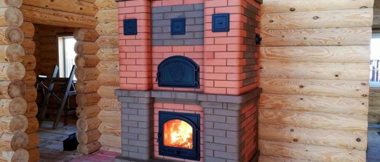 Печь для обогрева дома дровами