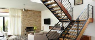 Какая лестница занимает меньше места в доме